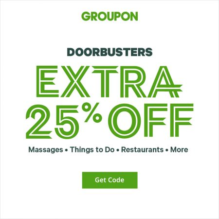groupon promo code valid today