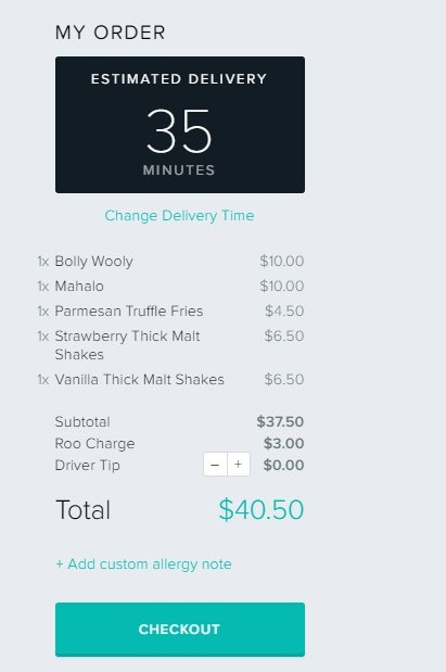 how to add promo code to deliveroo