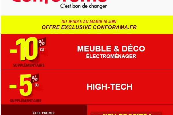 code promo amazon meuble