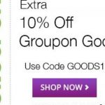 Promotion Code For Groupon Goods