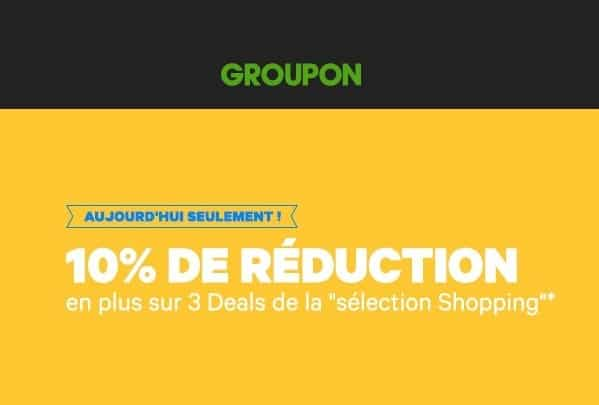 code promo groupon puericulture