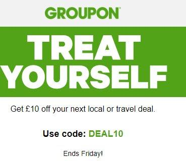 code promo groupon travel