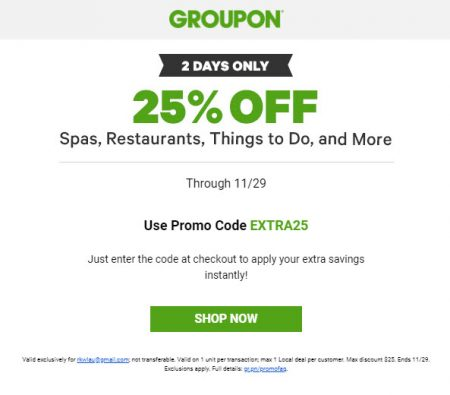 groupon promo code vancouver