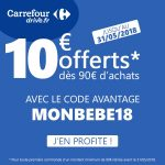 Code Reduction Carrefour Drive Mars 2019