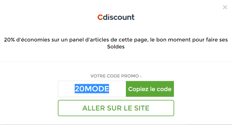 code promo cdiscount mobile 2019