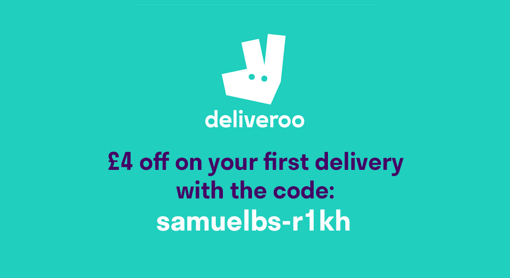 promo code deliveroo new account