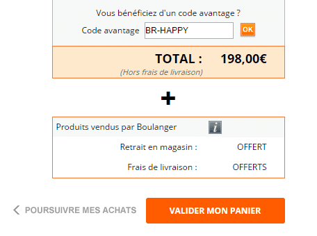 code promo boulanger yaourtiere