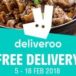 Deliveroo Promo Code May 2018