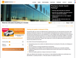 code promo quick parking orly