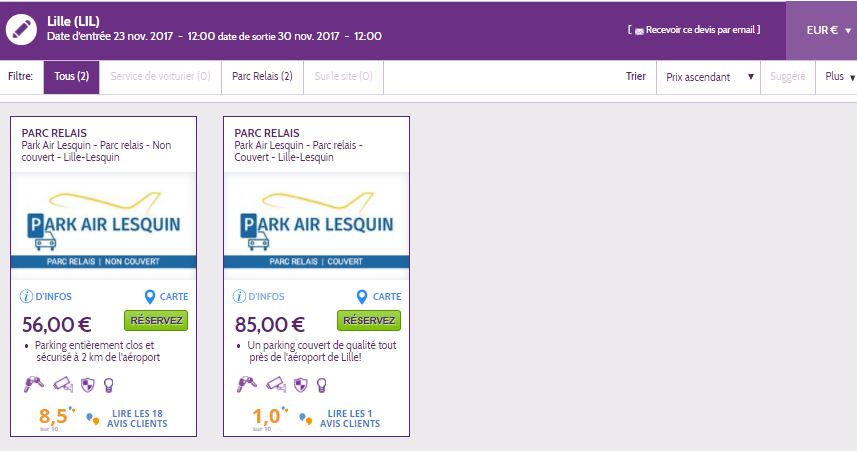 code promo parking orly