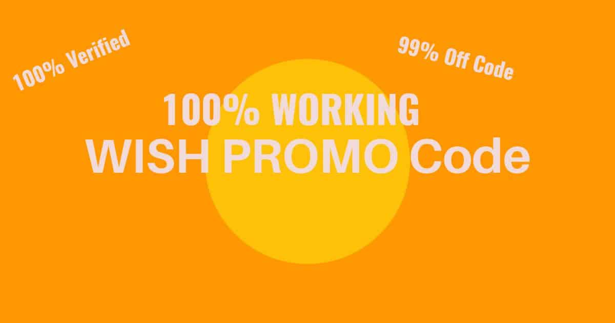code promo wish hors application